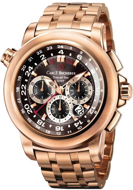 Image of Carl F. Bucherer Patravi Traveltec GMT Mens Watch Model 00.10620.03.33.21