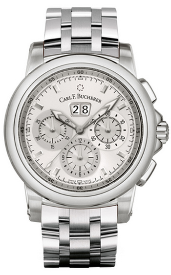 Image of Carl F. Bucherer Patravi ChronoDate Mens Watch Model 00.10624.08.13.21
