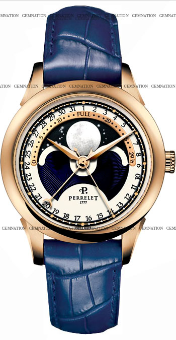 Image of Perrelet Moonphase Mens Watch Model A3013.3