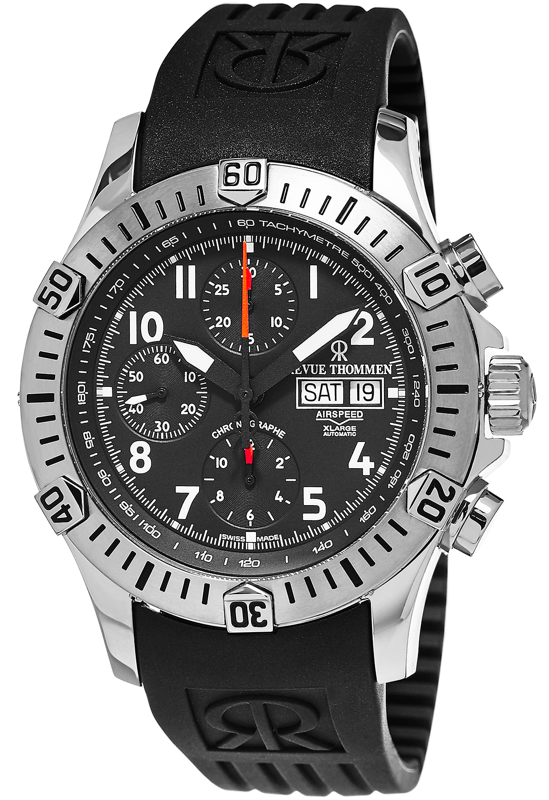 Image of Revue Thommen Airspeed XLarge Mens Watch Model 16071.6834