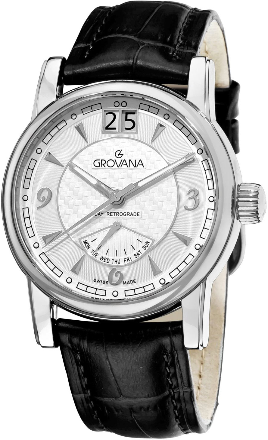 Image of Grovana Day Retrograde Mens Watch Model 1721.1532