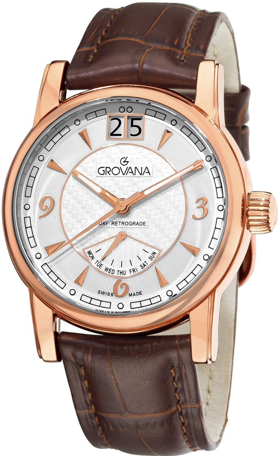Image of Grovana Day Retrograde Mens Watch Model 1721.1562