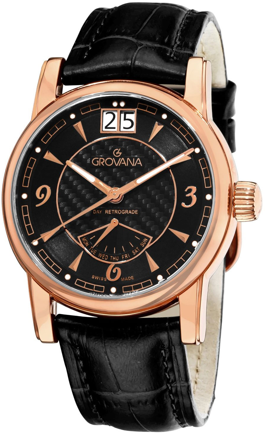 Image of Grovana Day Retrograde Mens Watch Model 1721.1567