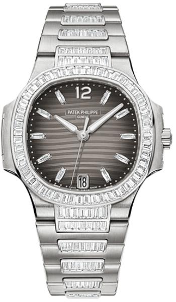 Image of Patek Philippe Nautilus Haute Joaillerie Ladies Watch Model 7014-1G-001