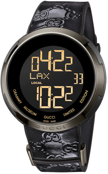 Image of Gucci I Gucci Gucci Grammy Edition Unisex Watch Model YA114101
