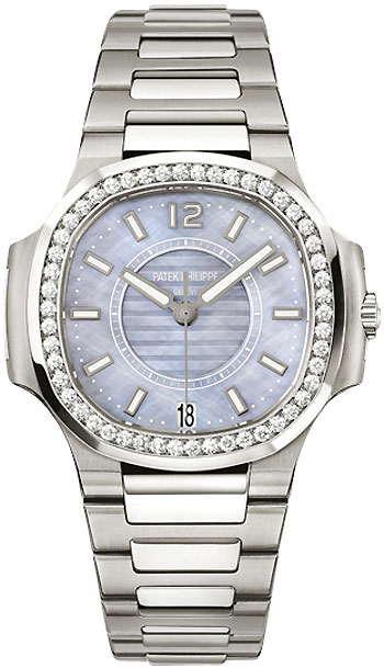 Image of Patek Philippe Nautilus Ladies Watch Model 7008-1A-001