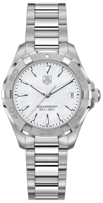 Image of Tag Heuer Aquaracer 32mm Ladies Watch Model WAY1312.BA0915