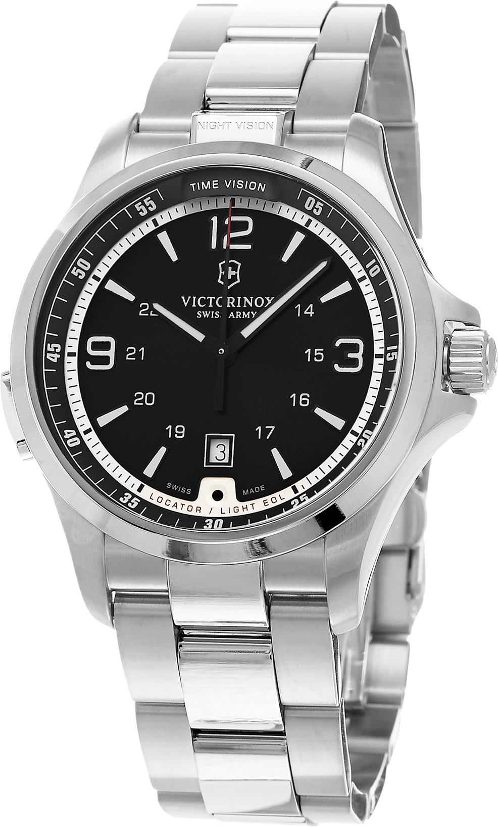 Image of Swiss Army Night Vision Mens Watch Model 241569