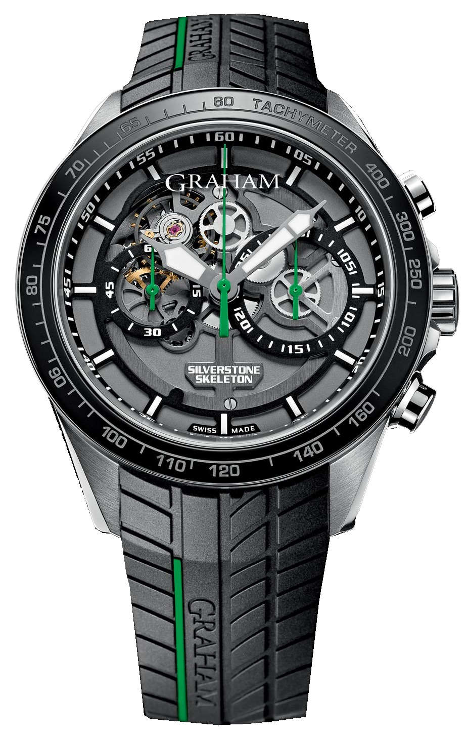 Image of Graham Silverstone RS Skeleton Mens Watch Model 2STAC2.B01A