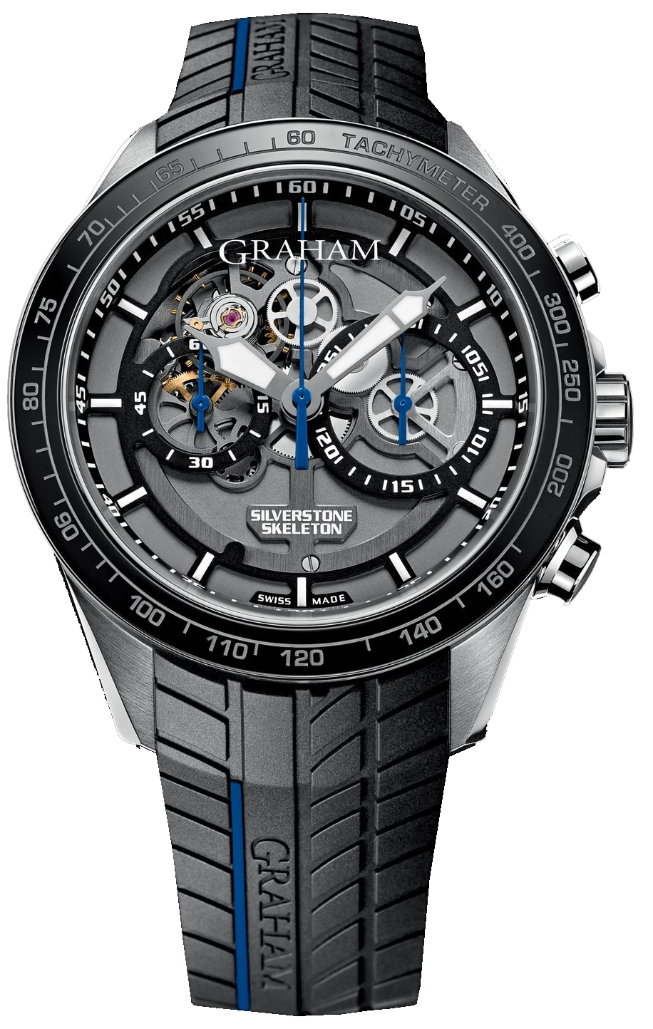 Image of Graham Silverstone RS Skeleton Mens Watch Model 2STAC3.B01A