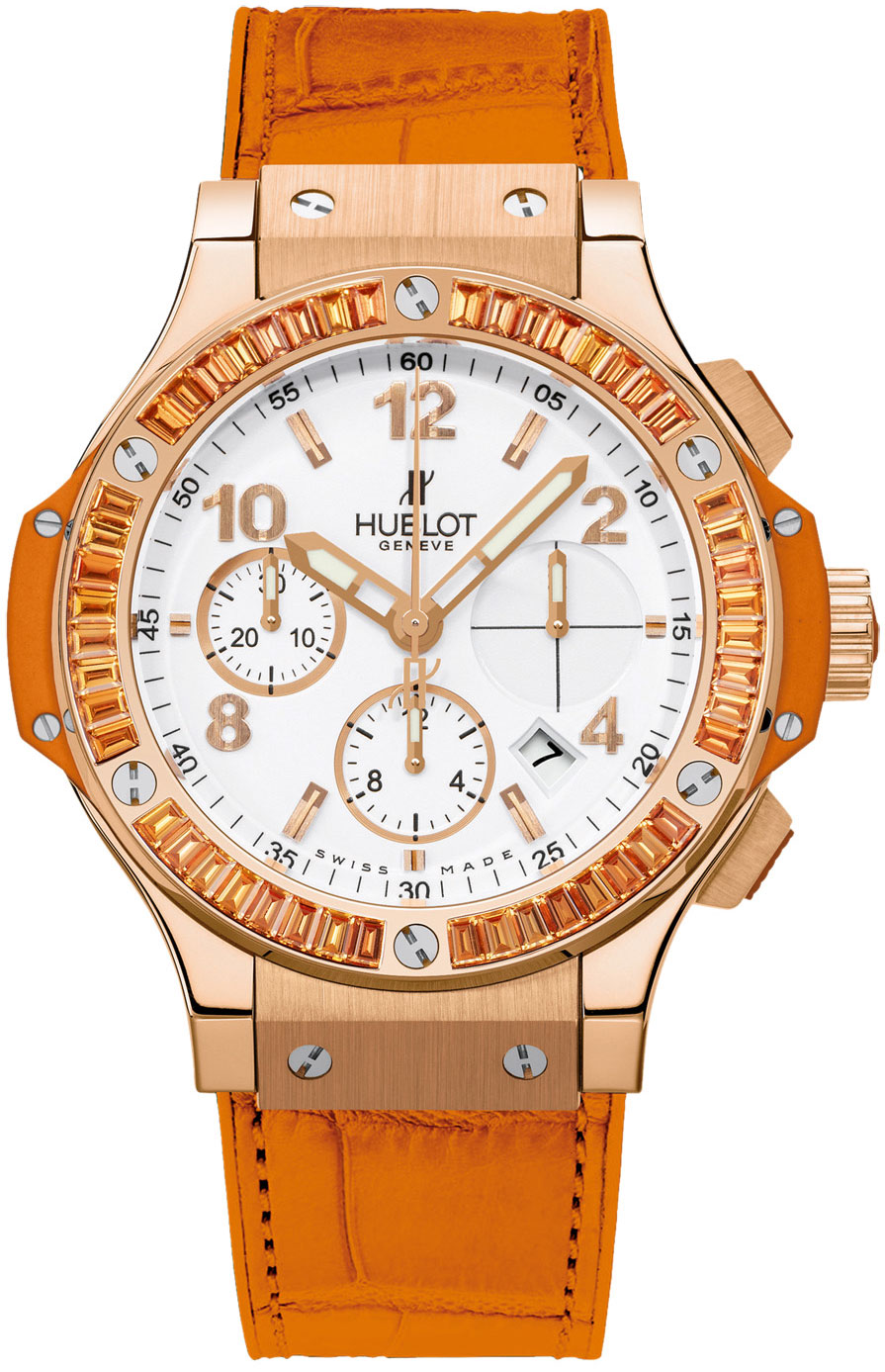 Image of Hublot Big Bang Tutti Frutti 41mm Ladies Watch Model 341.PO.2010.LR.1906