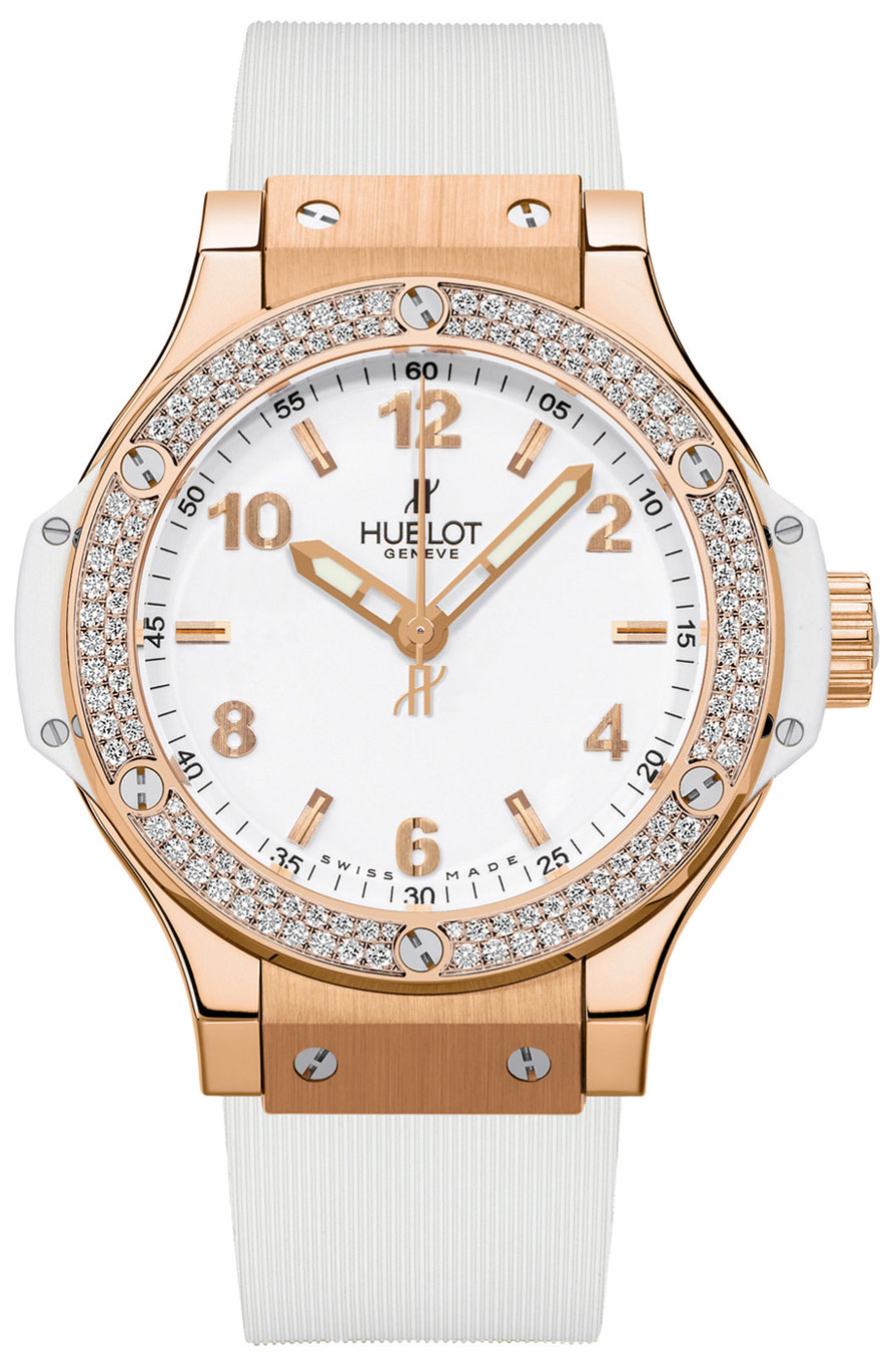 Image of Hublot Big Bang 38mm Ladies Watch Model 361.PE.2010.RW.1104