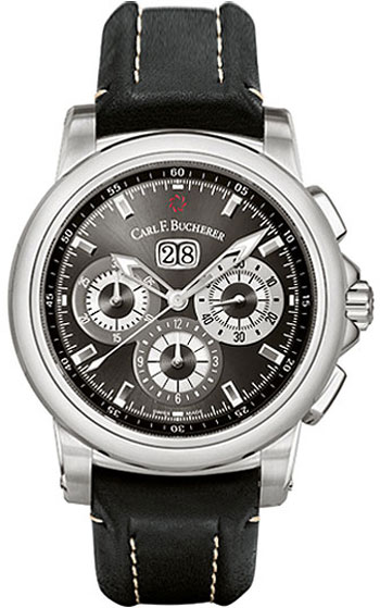 Image of Carl F. Bucherer Patravi ChronoDate Mens Watch Model 00.10624.08.33.01