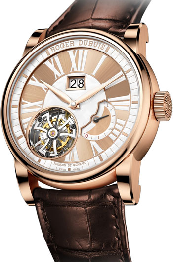 Image of Roger Dubuis Hommage Flying Tourbillon Tribute to Mr Roger Dubuis Mens Watch Model RDDBHO0568