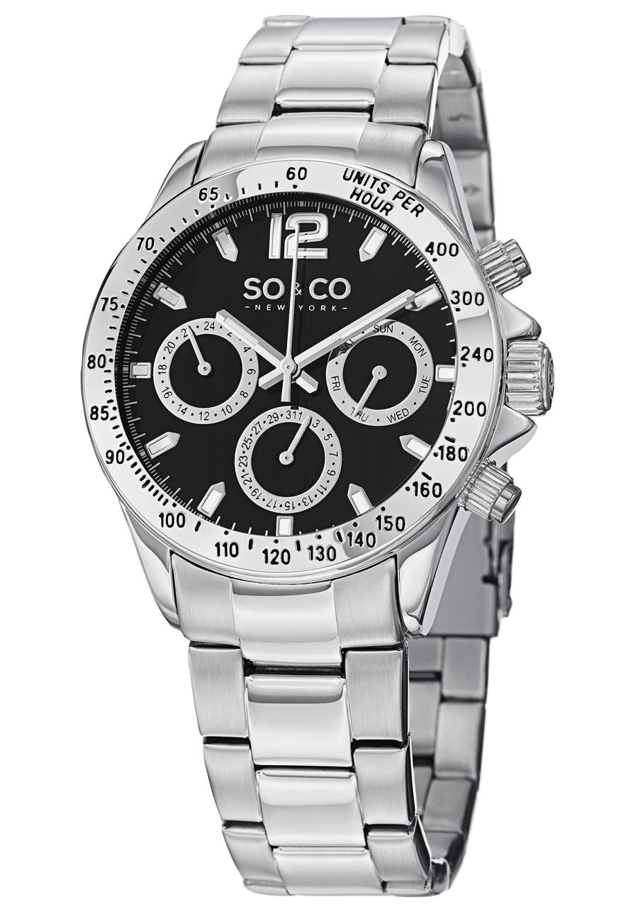 Image of SO & CO 0 Mens Watch Model 5001.1