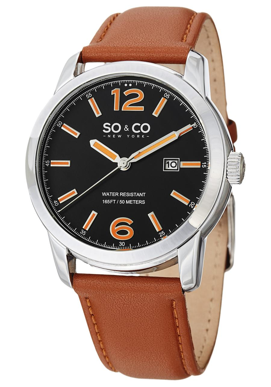 Image of SO & CO 0 Mens Watch Model 5011L.1