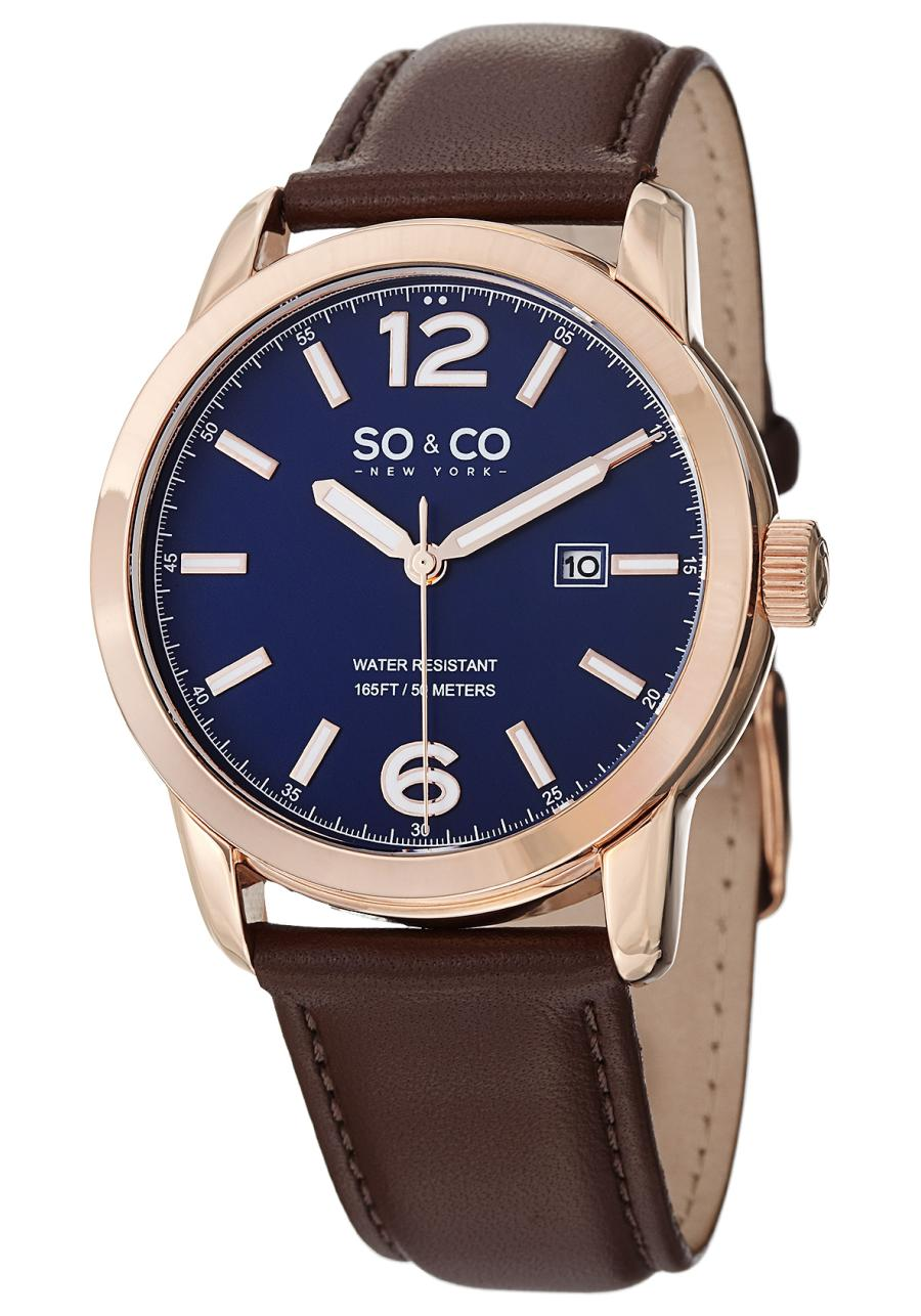 Image of SO & CO 0 Mens Watch Model 5011L.2