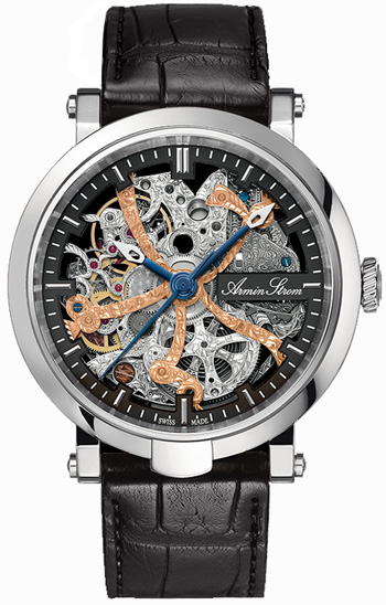 Image of Armin Strom Skeleton Blue Chip Mens Watch Model ST09-SA.75