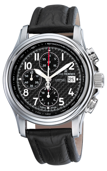 Image of Revue Thommen Airspeed XLarge High Tech Mens Watch Model 16041.6537
