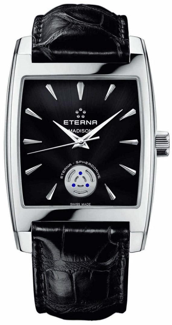Image of Eterna Madison Three Hands Spherodrive Mens Watch Model 7712.41.41.1177