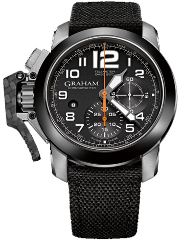 Image of Graham Chronofighter Oversize Mens Watch Model 2CCAC.B03A