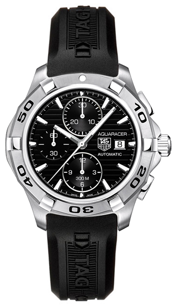 Image of Tag Heuer Aquaracer Chronograph Calibre 16 Mens Watch Model CAP2110.FT6028