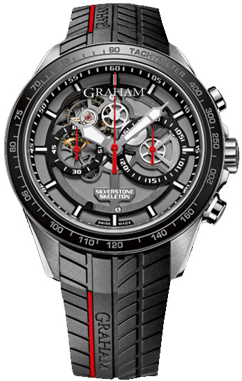 Image of Graham Silverstone RS Skeleton Mens Watch Model 2STAC1.B01A