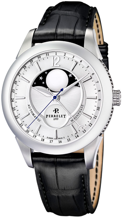 Image of Perrelet Moonphase Mens Watch Model A1039.6
