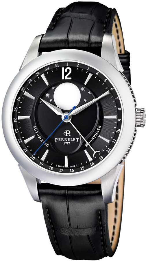 Image of Perrelet Moonphase Mens Watch Model A1039.7