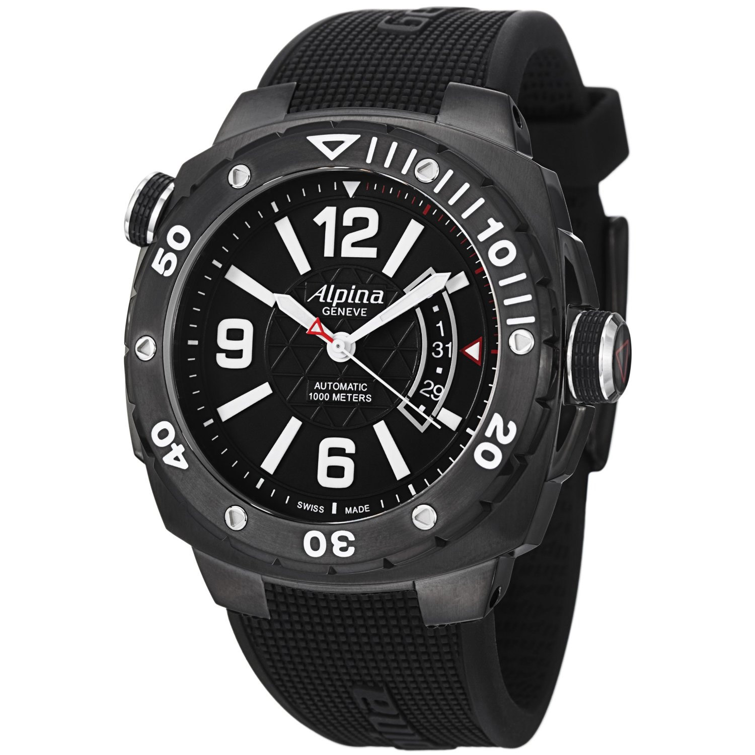Image of Alpina Adventure Extreme Diver Mens Watch Model AL-525LBB5FBAEV6