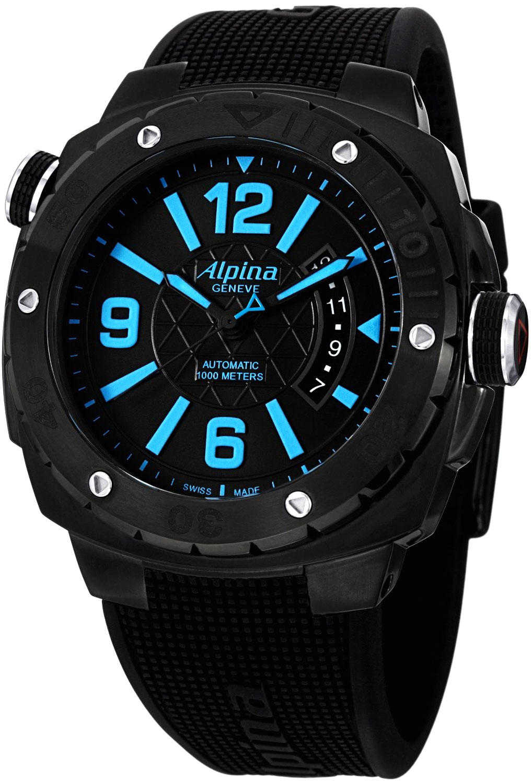Image of Alpina Adventure Extreme Diver Mens Watch Model AL-525LBCD5FBAEV6