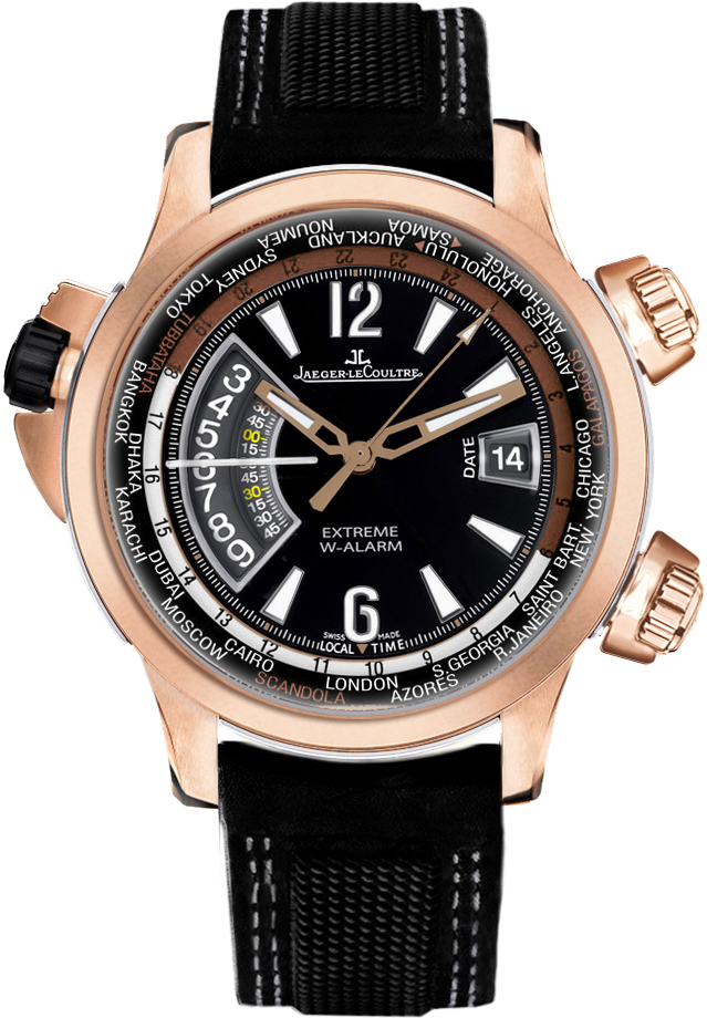 Image of Jaeger-LeCoultre Master Compressor W-Alarm TIDES OF TIME Mens Watch Model Q1772470