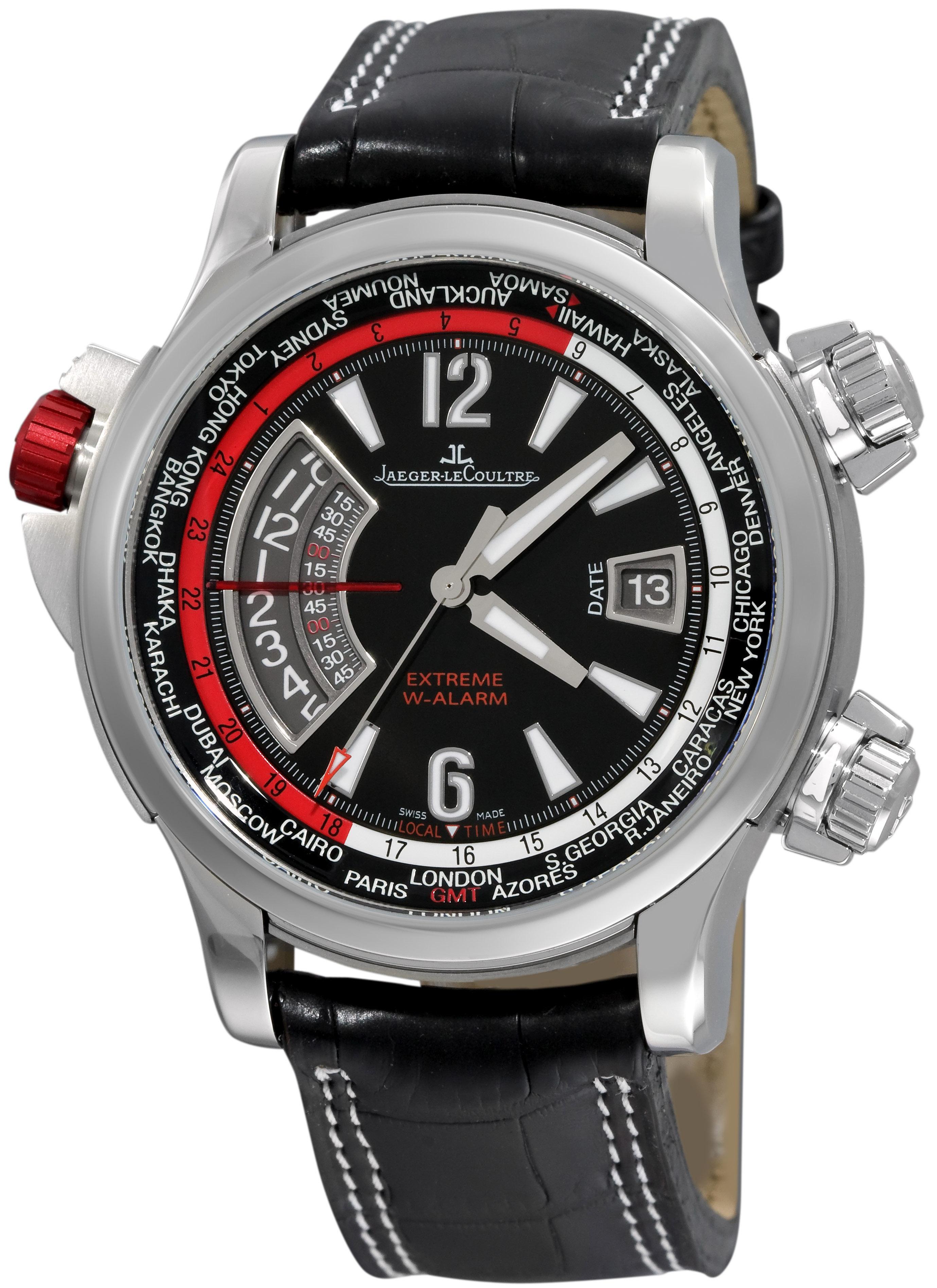 Image of Jaeger-LeCoultre Master Compressor W-Alarm Mens Watch Model Q1778470
