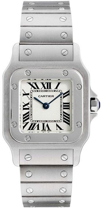 Image of Cartier Santos de Cartier Ladies Watch Model W20056D6